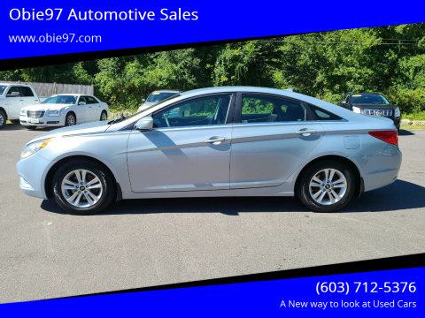 2013 Hyundai Sonata for sale at Obie97 Automotive Sales in Londonderry NH