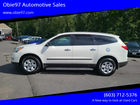 2012 Chevrolet Traverse for sale at Obie97 Automotive Sales in Londonderry NH