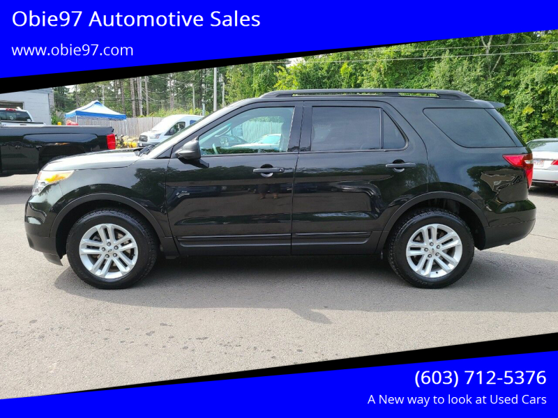 2015 Ford Explorer for sale at Obie97 Automotive Sales in Londonderry NH