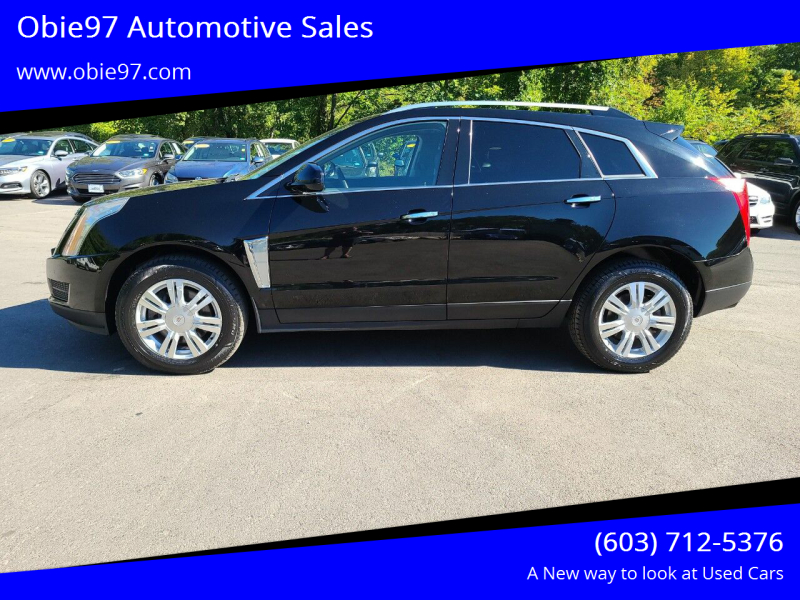 2016 Cadillac SRX for sale at Obie97 Automotive Sales in Londonderry NH
