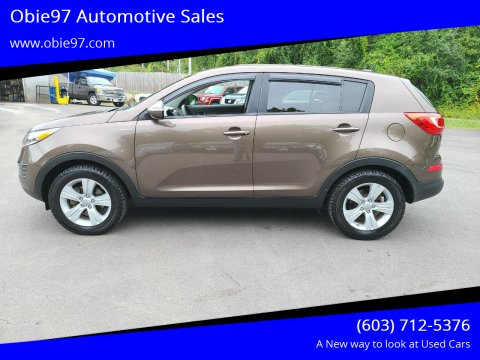 2013 Kia Sportage for sale at Obie97 Automotive Sales in Londonderry NH
