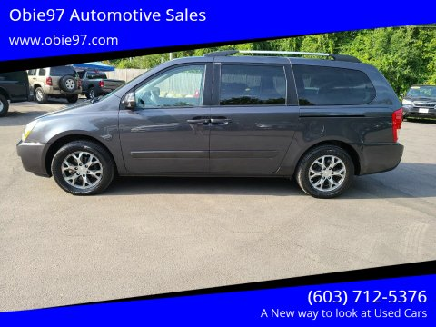 2014 Kia Sedona for sale at Obie97 Automotive Sales in Londonderry NH