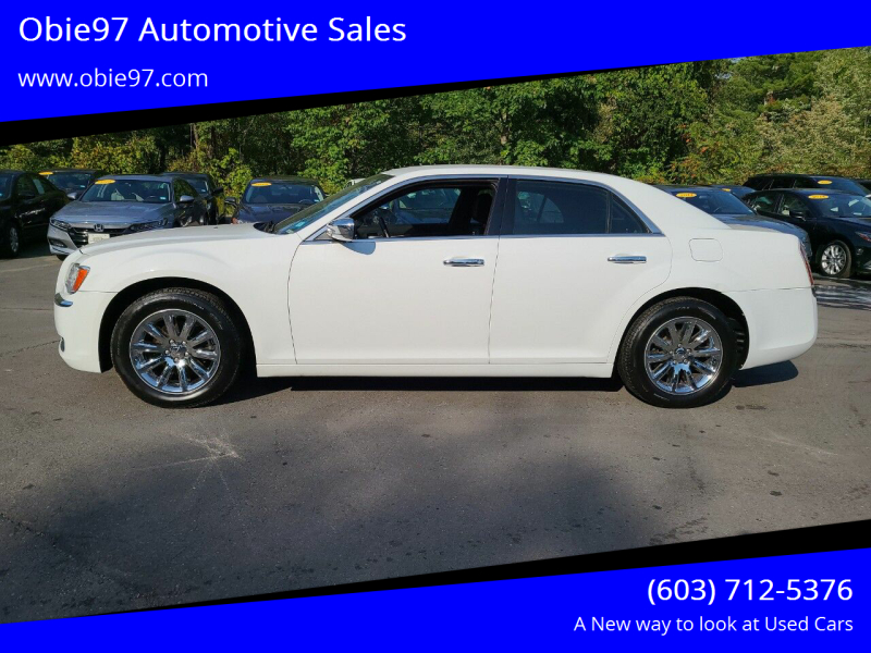 2011 Chrysler 300 for sale at Obie97 Automotive Sales in Londonderry NH