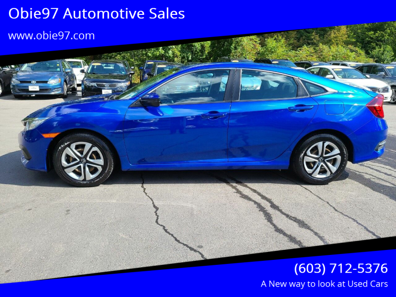 2017 Honda Civic for sale at Obie97 Automotive Sales in Londonderry NH