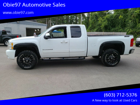 2013 Chevrolet Silverado 1500 for sale at Obie97 Automotive Sales in Londonderry NH