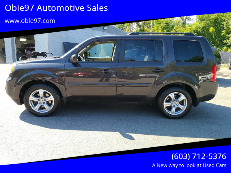 2012 Honda Pilot for sale at Obie97 Automotive Sales in Londonderry NH