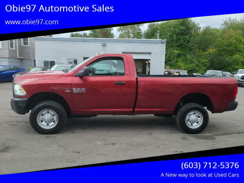 2014 RAM Ram Pickup 2500 for sale at Obie97 Automotive Sales in Londonderry NH