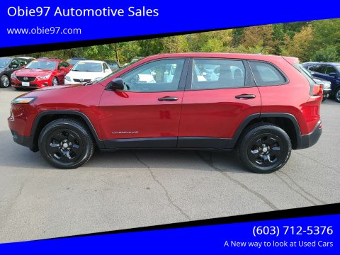 2014 Jeep Cherokee for sale at Obie97 Automotive Sales in Londonderry NH
