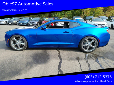 2016 Chevrolet Camaro for sale at Obie97 Automotive Sales in Londonderry NH