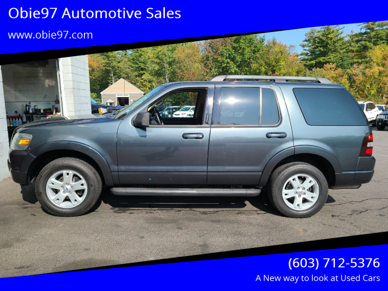 2010 Ford Explorer for sale at Obie97 Automotive Sales in Londonderry NH