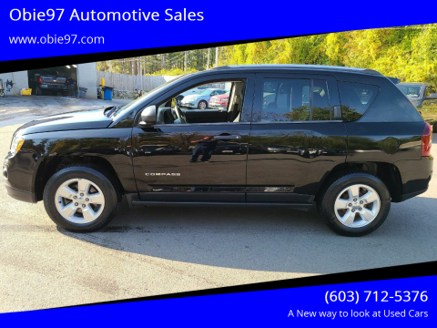 2014 Jeep Compass for sale at Obie97 Automotive Sales in Londonderry NH