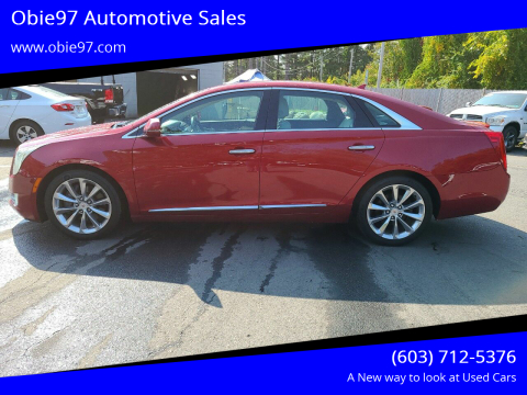 2013 Cadillac XTS for sale at Obie97 Automotive Sales in Londonderry NH