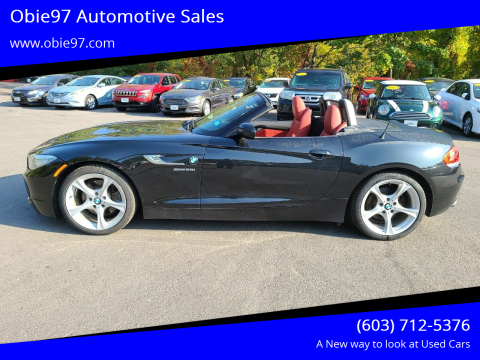 2015 BMW Z4 for sale at Obie97 Automotive Sales in Londonderry NH