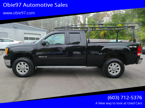 2013 GMC Sierra 2500HD for sale at Obie97 Automotive Sales in Londonderry NH