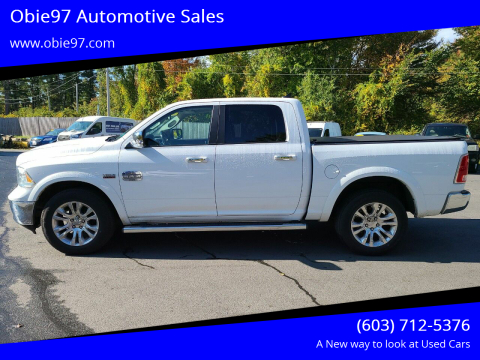 2016 RAM Ram Pickup 1500 for sale at Obie97 Automotive Sales in Londonderry NH