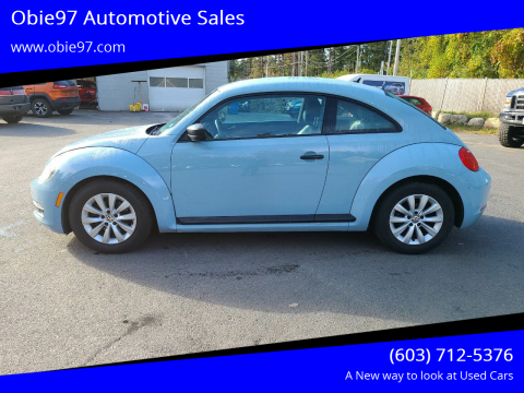 2015 Volkswagen Beetle for sale at Obie97 Automotive Sales in Londonderry NH