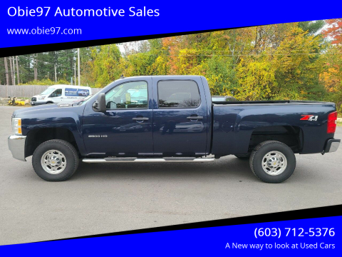 2010 Chevrolet Silverado 2500HD for sale at Obie97 Automotive Sales in Londonderry NH
