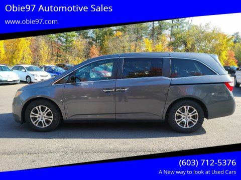 2012 Honda Odyssey for sale at Obie97 Automotive Sales in Londonderry NH