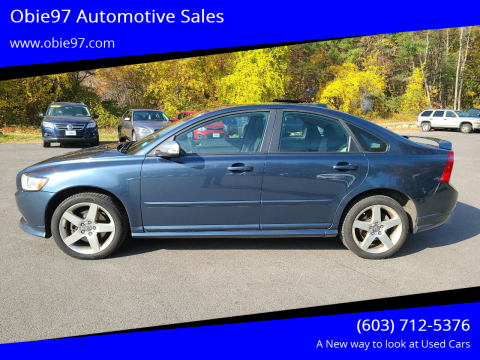 2010 Volvo S40 for sale at Obie97 Automotive Sales in Londonderry NH
