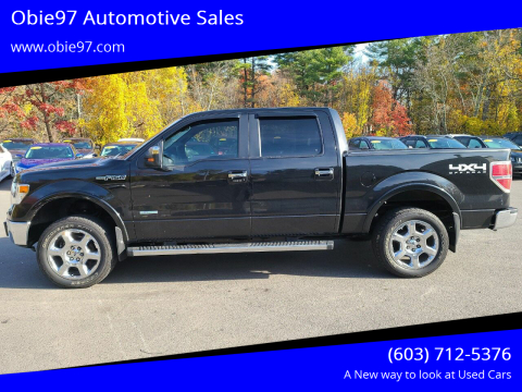 2013 Ford F-150 for sale at Obie97 Automotive Sales in Londonderry NH