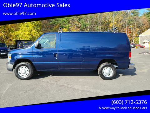 2014 Ford E-Series Cargo for sale at Obie97 Automotive Sales in Londonderry NH
