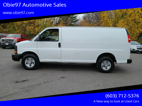 2010 Chevrolet Express Cargo for sale at Obie97 Automotive Sales in Londonderry NH