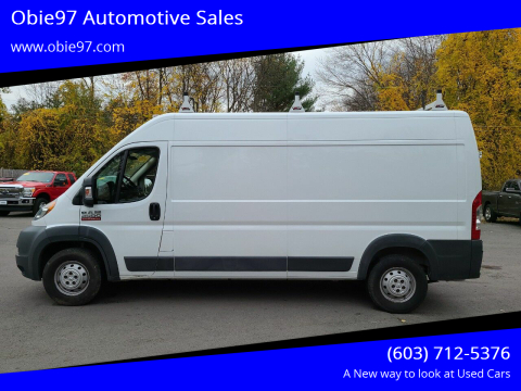 2015 RAM ProMaster Cargo for sale at Obie97 Automotive Sales in Londonderry NH