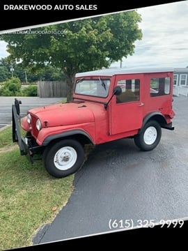 1958 Jeep Wrangler for sale in Portland, TN