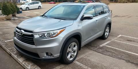 2015 Toyota Highlander Limited for sale at Handicap of Jackson in Jackson TN