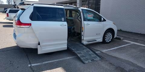 2013 Toyota Sienna Limited 7-Passenger for sale at Handicap of Jackson in Jackson TN