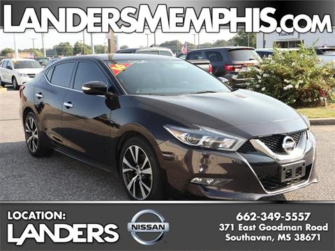 2016 Nissan Maxima for sale in Southaven, MS
