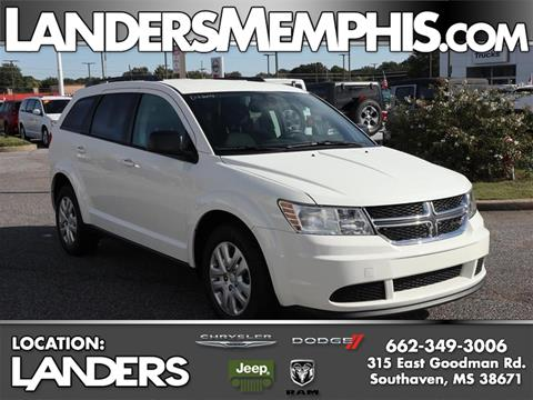Landers Dodge Southaven >> 2018 Dodge Journey For Sale In Southaven Ms