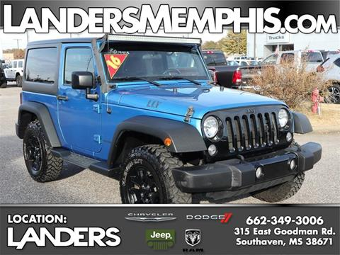 2016 Jeep Wrangler for sale in Southaven, MS