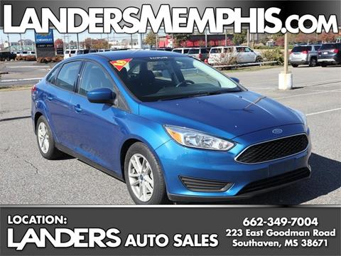 2018 Ford Focus for sale in Southaven, MS