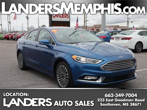 2017 Ford Fusion SE for sale at Landers Auto Group in Southaven MS