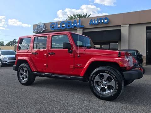 2018 Jeep Wrangler Unlimited for sale in Corinth, MS