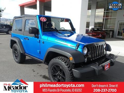 2015 Jeep Wrangler for sale in Pocatello, ID