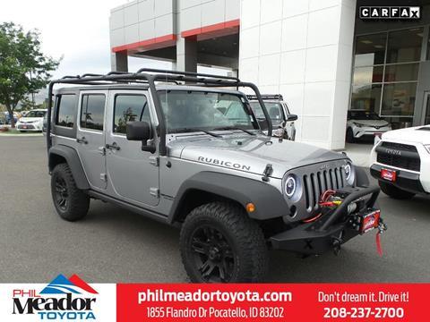 2013 Jeep Wrangler Unlimited for sale in Pocatello, ID