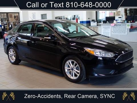 2016 Ford Focus for sale in Sandusky, MI