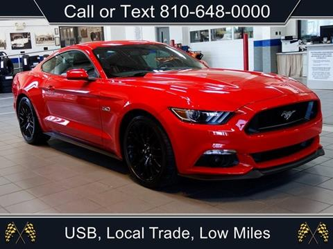 2017 Ford Mustang for sale in Sandusky, MI