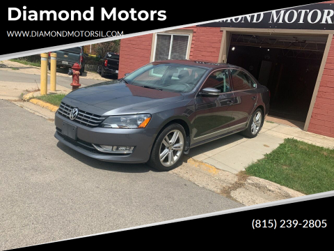 2014 Volkswagen Passat for sale at Diamond Motors in Pecatonica IL