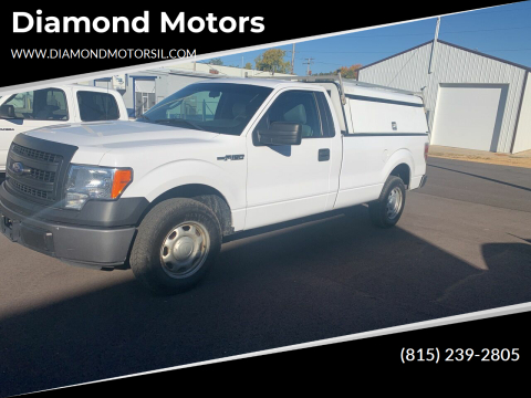 2014 Ford F-150 for sale at Diamond Motors in Pecatonica IL