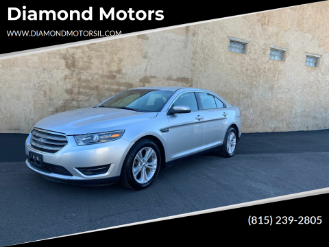 2018 Ford Taurus for sale at Diamond Motors in Pecatonica IL