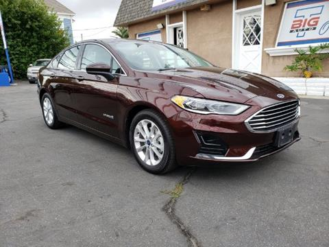 2019 Ford Fusion Hybrid for sale in Ontario, CA