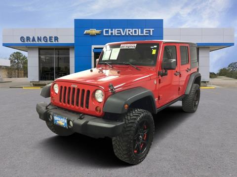 2012 Jeep Wrangler Unlimited for sale in West Orange, TX