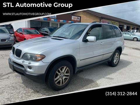2005 BMW X5 for sale at STL Automotive Group in O'Fallon MO