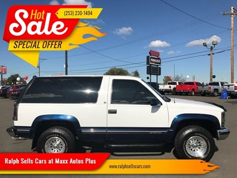 1996 Chevrolet Tahoe for sale in Puyallup, WA