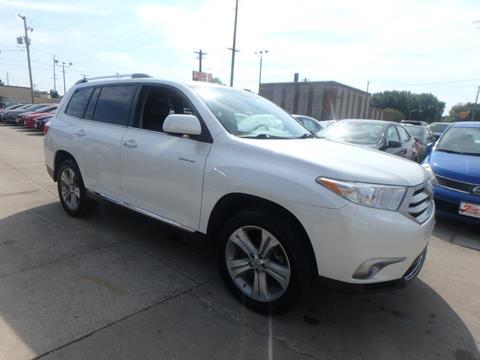 2013 Toyota Highlander For Sale >> 2013 Toyota Highlander For Sale In Des Moines Ia