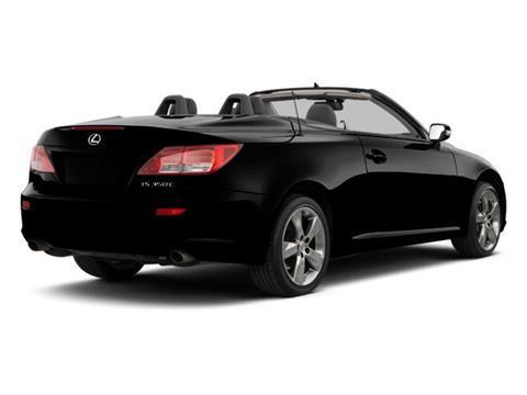 2012 Lexus IS 250C for sale in Jacksonville, FL