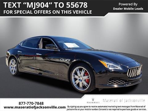2019 Maserati Quattroporte for sale in Jacksonville, FL